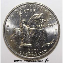 UNITED STATES - KM 318 - 1/4 DOLLAR 2001 D - Denver - NEW YORK