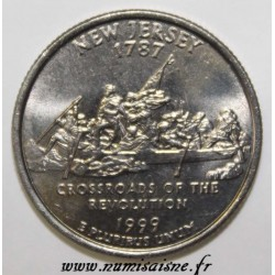 UNITED STATES - KM 295 - 1/4 DOLLAR 1999 P - NEW JERSEY