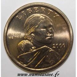 UNITED STATES - KM 310 - 1 DOLLAR 2000 P - Philadelphia - Sacagawea