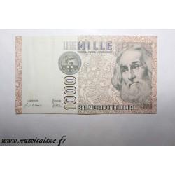 ITALY - PICK 109 a - 1 000 LIRE - 06/01/1982