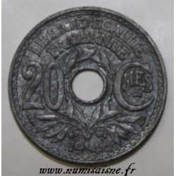 FRANCE - KM 907 - 20 CENTIMES 1946 - TYPE LINDAUER