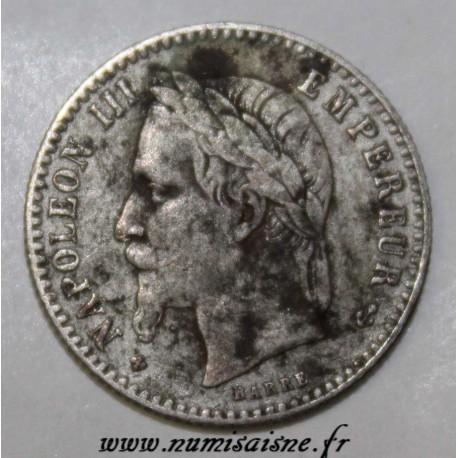 FRANCE - KM 794 - 50 CENT 1866 BB - Strasbourg - TYPE NAPOLEON III