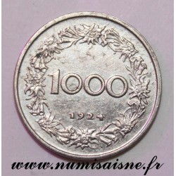 AUSTRIA - KM 2834 - 1000 KRONEN 1924