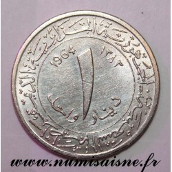 ALGERIA - KM 100 - 1 DINAR 1964 - AH 1383