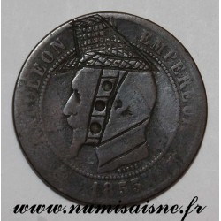 FRANCE - KM 771 - 10 CENTIMES 1855 - TYPE NAPOLÉON III - SATIRICAL