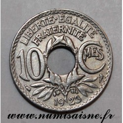 FRANCE - KM 866a - 10 CENTIMES 1923 - TYPE LINDAUER