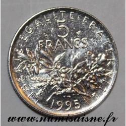 GADOURY 771 - 5 FRANCS 1995 - TYPE SEMEUSE - KM 926