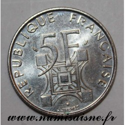 FRANKREICH - KM 968 - 5 FRANCS 1989 - TYP EIFFEL TÜRM