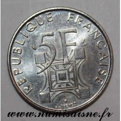 GADOURY 772 - 5 FRANCS 1989 - TYPE TOUR EIFFEL - KM 968