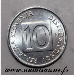 SLOVENIA - KM 7 - 10 STOTINOV 1993