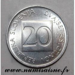 SLOVENIA - KM 8 - 20 STOTINOV 1993