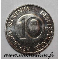 SLOVENIA - KM 41 - 10 TOLARJEV 2002