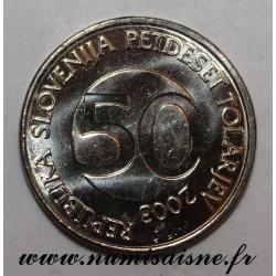 SLOVENIA - KM 52 - 50 TOLARJEV 2003 - TAURUS