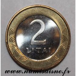 LITHUANIA - KM 112 - 2 LITAI 2002