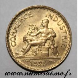 FRANCE - KM 876 - 1 FRANC 1923 - TYPE COMMERCE CHAMBER