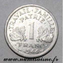 FRANCE - KM 902 - 1 FRANC 1944 C - Castelsarrasin - TYPE BAZOR