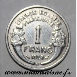 GADOURY 473a - 1 FRANC 1958 B - Beaumont le Roger - TYPE MORLON - KM 885a