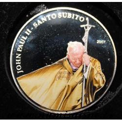 PALAU - KM 116 - 1 DOLLAR 2007 - POPE JOHN PAUL II