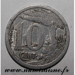 ALGERIA - KM TnE2 - 10 CENTIMES 1921 - COMMERCE CHAMBER OF ORAN