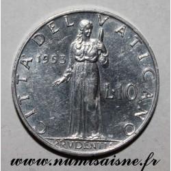 VATICAN - Y 52 - 10 LIRE 1953 - PAPE PIE XII