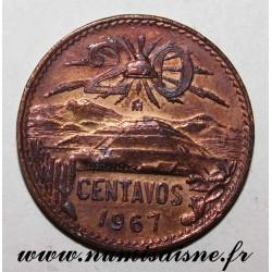 MEXIKO - KM 440 - 20 CENTAVOS 1967
