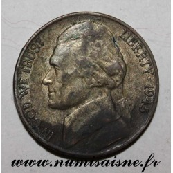 UNITED STATES - KM 192a - 5 CENTS 1945 P - Philadelphia