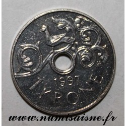 NORWAY - KM 462 - 1 KRONE 1997