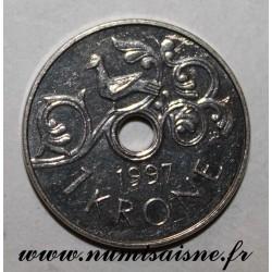 NORWEGEN - KM 462 - 1 KRONE 1997