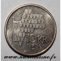 NORWAY- KM 457 - 10 KRONER 1996