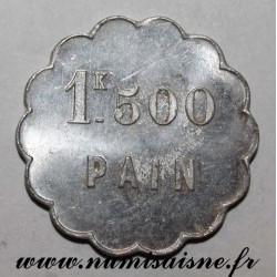 FRANCE - County 88 - THAON - 1.5 kg BREAD - MEDAL STRIKE