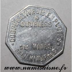 FRANCE - 62 - LIEVIN - BOULANGERIE - 1922 - COOPÉRATIVE DES MINES - FRAPPE MONNAIE