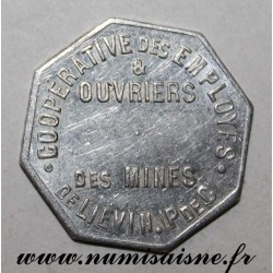 FRANCE - County 62 - LIEVIN - BAKERY - 1922 - MINING COOPERATIVE - COIN STRIKE
