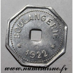 FRANCE - 62 - LIEVIN - BOULANGERIE - 1922 - COOPÉRATIVE DES MINES - FRAPPE MÉDAILLE