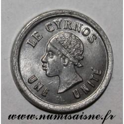 FRANCE - 75 - PARIS - UNE UNITÉ - LE CYRNOS - 25 Bvd St Martin - FRAPPE MONNAIE