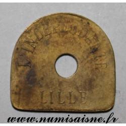 FRANCE - 59 - LILLE - 1 JETON ET DEMI - L'INDEPENDANTE