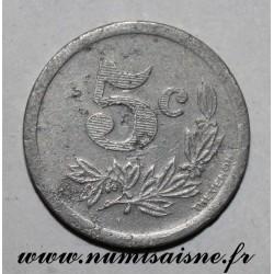 FRANCE - 08 - CHARLEVILLE ET SEDAN - 5 CENT 1921 - CHAMBRE DE COMMERCE