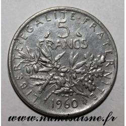 GADOURY 770 - 5 FRANCS 1960 - TYPE SEMEUSE - FAUX - KM 926