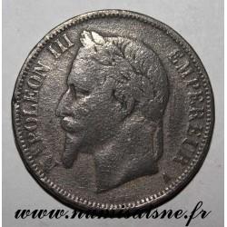 GADOURY 739 - 5 FRANCS 1869 A - Paris - TYPE NAPOLEON III - KM 799 - FAUX