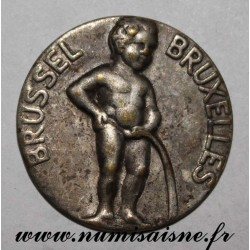 BELGIUM - UNIFACE MEDAL - MANNEKEN PIS