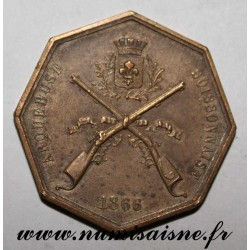 County 02 - SOISSONS - MEDAL - ARQUEBUS CONTEST - 1866