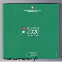 ITALY - 3.88 € - MINTSET BU 2020 - 8 COINS