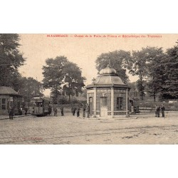County 59600 - LE NORD - MAUBEUGE - GRANT OF THE FRENCH POST OFFICE AND LIBRARY OF TRAMS