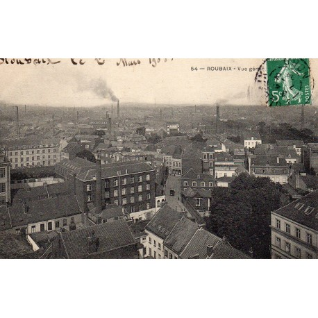County 59100 - LE NORD - ROUBAIX - GENERAL VIEW