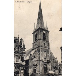 County 59730 - LE NORD - SOLESMES - THE CHURCH