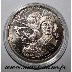 FRANKREICH - MEDAILLE - ZWEITER WELTKRIEG 1939-1945 - KAMPF VON ARDENNES - Gen. PATTON