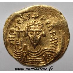 602 - 610 - PHOCAS - SOLIDUS - GOLD