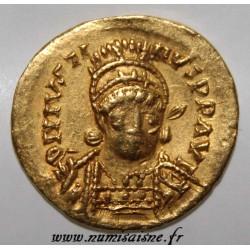 522 - 527 - JUSTIN I - SOLIDUS - GOLD