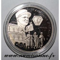 FRANKREICH - MEDAILLE - ZWEITER WELTKRIEG 1939-1945 - KAMPF VON ITALIEN - MARSCHALL JUIN