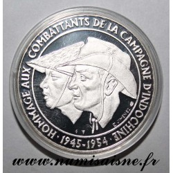 MEDAL - TRIBUTE TO VETERANS OF INDOCHINA