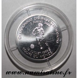 FRANCE - KM 1262 - 1 FRANC 2000 - TYPE 1998 WORLD CUP AND 2000 EUROPEAN FOOTBALL CHAMPIONSHIP
